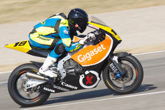 IRTA Test 125cc Royalty Free Stock Photos