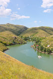The Irtysh river, Kazakhstan. The Irtysh river, Ust-Kamenogorsk Kazakhstan Stock Photos