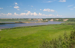 The Irtysh River Royalty Free Stock Images