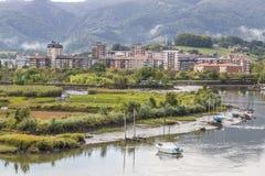 Iru'n, Guipuzkoa, Spanje royalty-vrije stock foto's