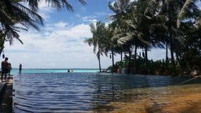 Irufushi de Tailandia del sol de Maldivas Imagen de archivo libre de regalías