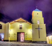 Iruya Church in Argentinian Salta Province. Royalty Free Stock Photography