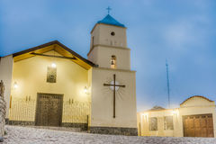 Iruya Church in Argentinian Salta Province. Royalty Free Stock Image