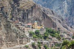 Iruya mountain vilage Royalty Free Stock Image