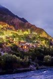 Iruya in Salta Province of northwestern Argentina royalty free stock image