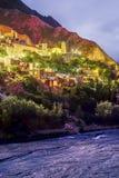 Iruya in Salta-Provincie van noordwestelijk Argentinië Royalty-vrije Stock Foto's
