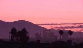 Irvine от пляжа Калифорнии Ньюпорта Стоковое Изображение RF