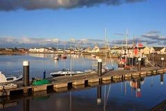 Irvine, Шотландия Стоковое Изображение RF