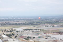 Irvine Great Park Aerial. Irvine Ca. Orange Balloon Royalty Free Stock Photos