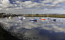 Irvine Harbour. North Ayrshire, Scotland Stock Images
