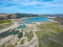 Irvine Lake Aerial Fotos de Stock