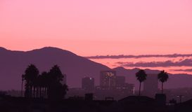 Irvine from Newport Beach California Royalty Free Stock Image