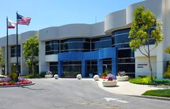 Irvine Ranch Water District Water Recycling Operations Center. IRVINE, CALIFORNIA - APRIL 27, 2018: Irvine Ranch Water District Water Recycling Operations Center Stock Image