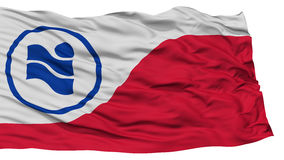 Irving City Flag d'isolement, Etats-Unis d'Amérique Photo stock
