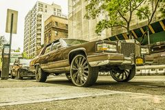 Irving miejsce Cadillac obrazy stock