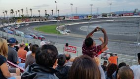 Irwindale Speedway Racing Royalty Free Stock Image