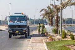 Irygaci ciężarówka w mieście Kuwai Obraz Stock