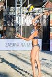Iryna Makhno van het dienen van de Oekraïne Stock Fotografie