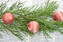 Isaías 9, fondo de la Navidad Foto de archivo