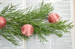 Isaías 9, fondo de la Navidad Fotos de archivo