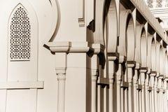 Isa宾・阿里清真寺,巴林外部  免版税库存图片
