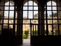Isa Bey-moskee binnen Royalty-vrije Stock Afbeeldingen