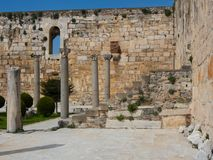 Isa Bey Mosque Royalty-vrije Stock Foto's