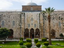 Isa Bey Mosque Stockbilder