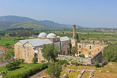 Isa Bey Mosque, Selcuk, Turkey royalty free stock photo