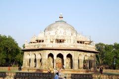 Isa Khan Graf, New Delhi royalty-vrije stock fotografie