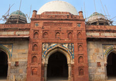 Isa Khan Niyazi mosque at Humayun's Tomb complex, Delhi, India Stock Photos