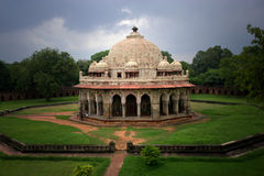 Isa Khan Niyazi's Tomb in Delhi. Old tomb Isa Khan Niyazi's  in Delhi Stock Photo