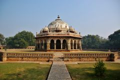 Isa Khan Niyazi's Tomb in Delhi Stock Images