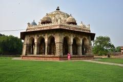 Isa Khan Niyazi's tomb in Humayun Tomb complex Royalty Free Stock Photo