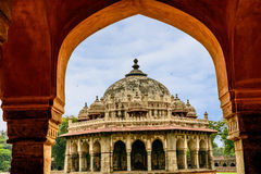Isa Khan Niyazi tomb, Humayan complex,New Delhi Stock Photography