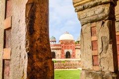 Isa Khan Niyazi tomb, Humayan complex,New Delhi Stock Images
