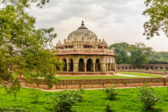 Isa Khan Niyazi tomb, Humayan complex,New Delhi Stock Photography