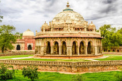 Isa Khan Niyazi tomb, Humayan complex,New Delhi Stock Photo