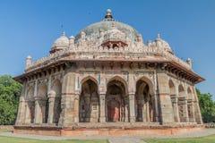 Isa Khan Niyazi Tomb in Humayun Tomb complex in Delhi, Ind. stock foto's
