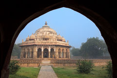 Isa Khan Niyazi tomb seen through arch, Humayun's Tomb complex, Royalty Free Stock Photography