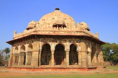Isa Khan's tomb Stock Images
