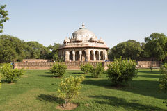 Isa Khan Tomb Enclosure, Delhi, Inde photo stock