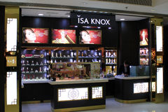 Isa-knox in Hong Kong Stockbild