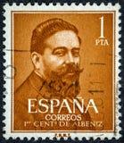 Isaac Albeniz Spanish Composer και Pianist Στοκ Φωτογραφία