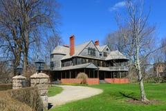 Isaac Bell House, Rhode Island, de V.S. Stock Afbeeldingen