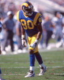 Isaac Bruce, St Louis Rams fotografia de stock