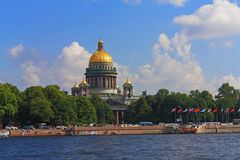 The Isaac cathedral Stock Photography