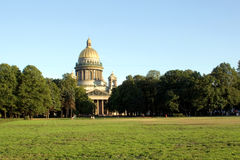 Isaac cathedral sainct petersburg russia Stock Photos