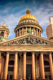 Isaac cathedral in Saint Petersburg Stock Images