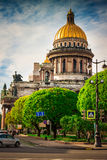 Isaac cathedral in Saint Petersburg Royalty Free Stock Image